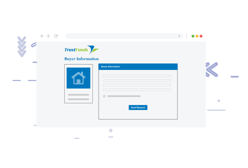 Agent provides buyer and payment information screenshot
